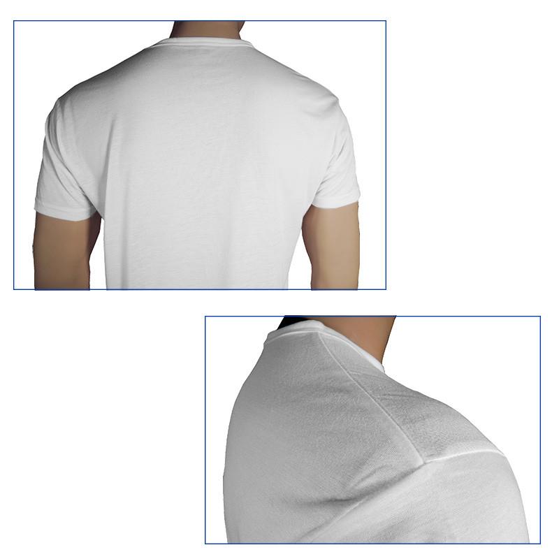 Unisex Tacto Camiseta Algodón 140g Para Sublimación De bIvfyY76g
