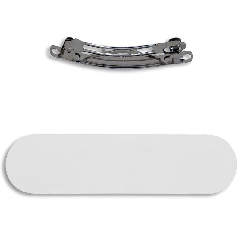 Clip para el pelo con lámina de aluminio sublimable • Brildor ®
