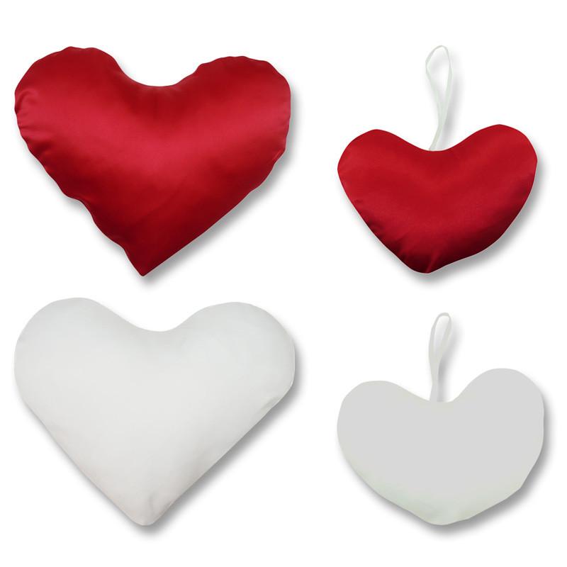 Funda De Cojín Corazón Para Sublimación Brildor