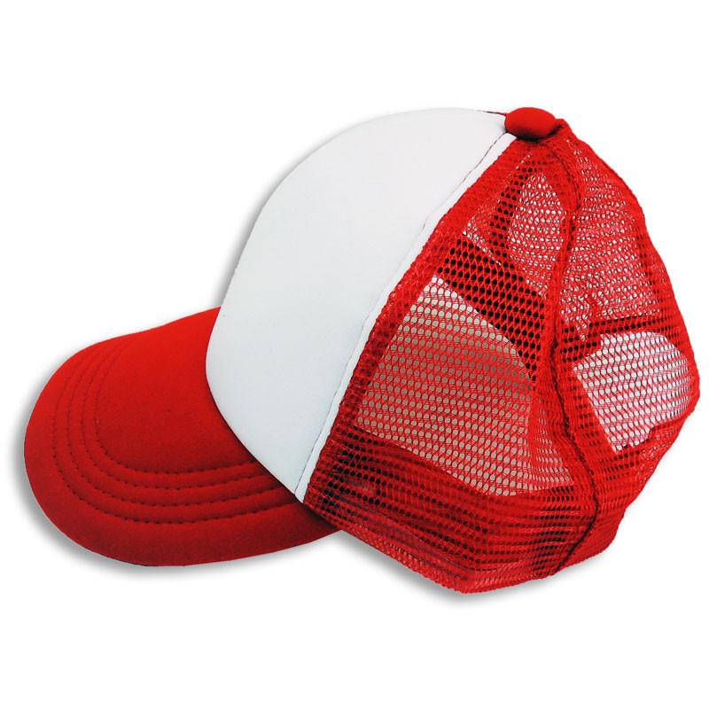 d87fe080d084d Gorras para adultos personalizables - Detalle gorra roja