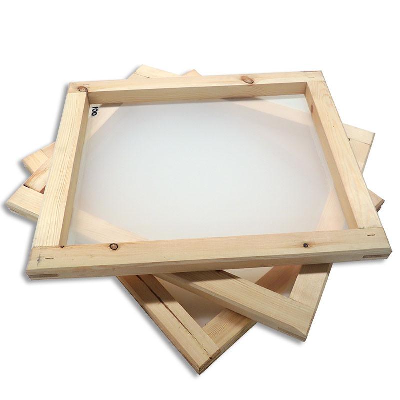 Marcos para serigrafía de madera entelados • Brildor ®