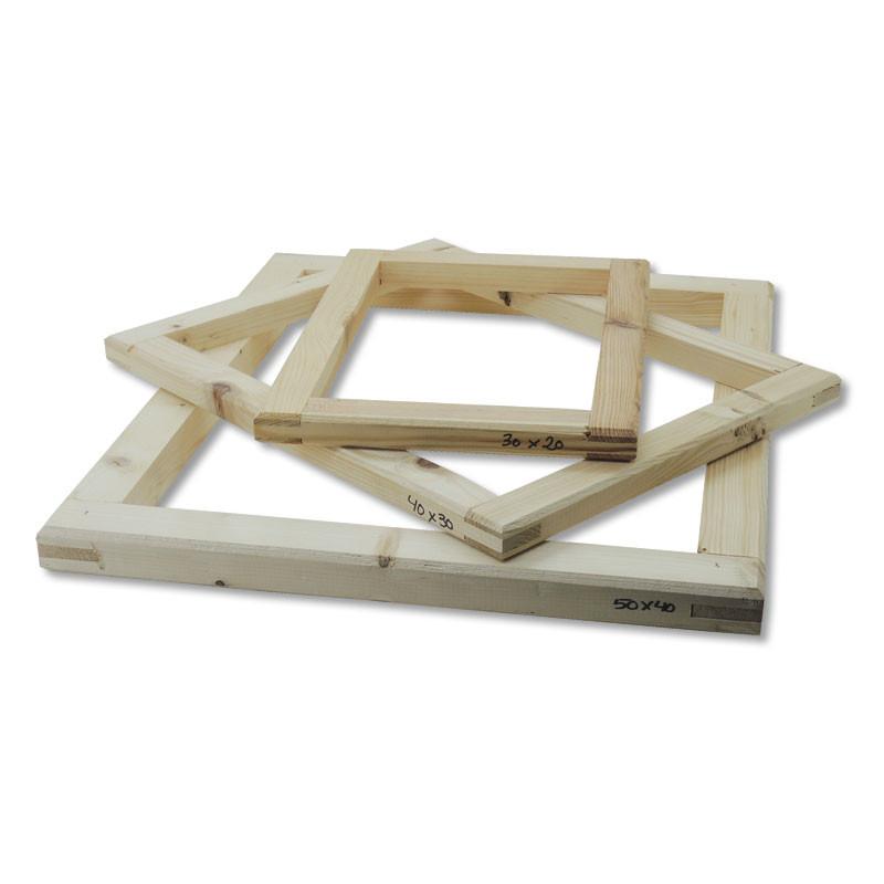 Marcos para serigrafía de madera • Brildor ®