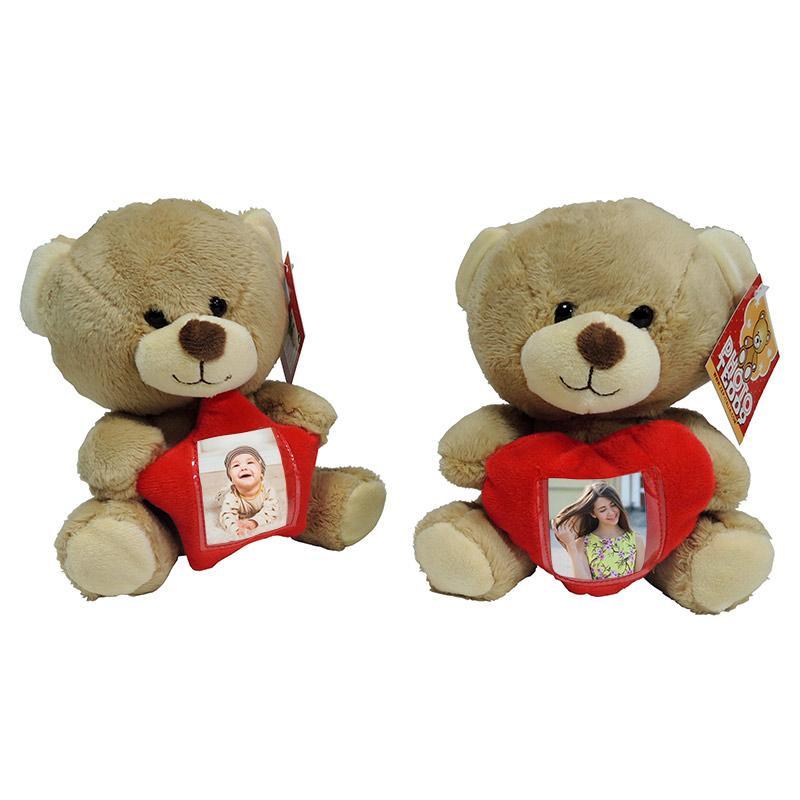 Osito Teddy portafotos personalizable - Pack de 6 uds • Brildor ®