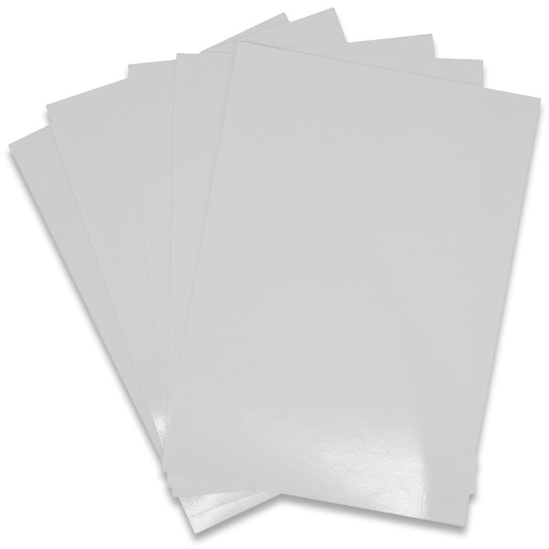 Transparente Impresora Láser Papel Calcomanía de Agua X 5 A4