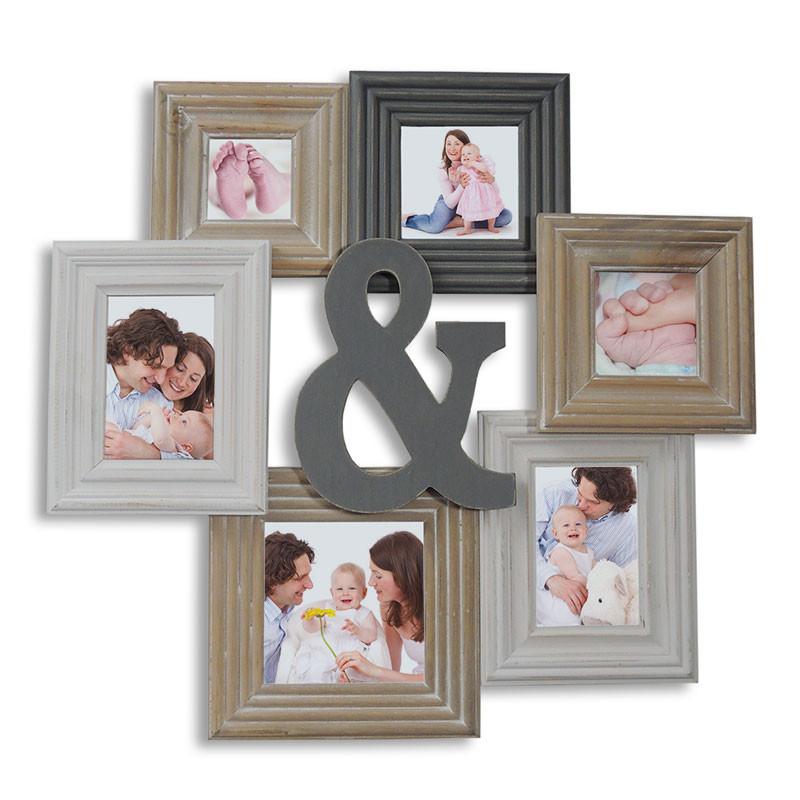 Portafotos collage Serie Chamboard personalizables • Brildor ®