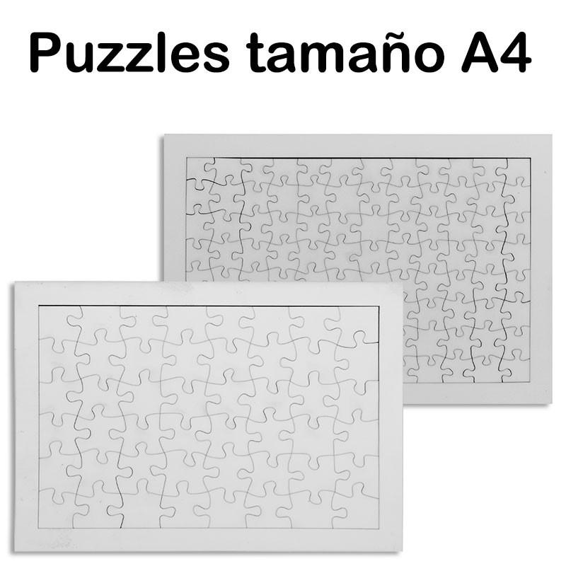 Puzzles de madera con marco personalizables • Brildor ®