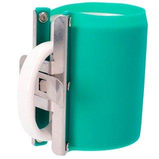 Abrazadera de silicona verde para taza 10/11oz