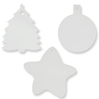 Adornos navideños de cartón