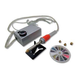 Aplicador manual de pedrería con bomba de succión - Con accesorios