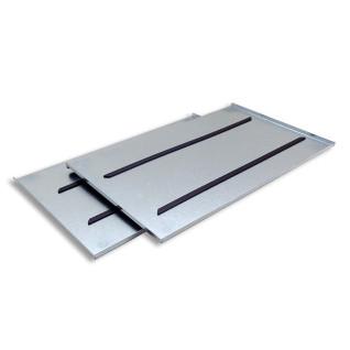 Bandeja metálica de 25 x 40cm para gota de resina - Pack de 2