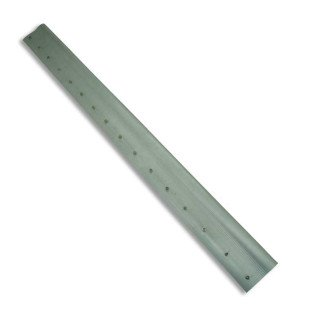 Barra de aluminio para racletas de 1 metro