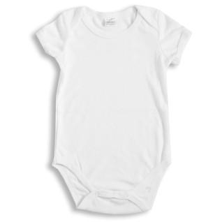 Body infantil para sublimación tacto algodón de manga corta