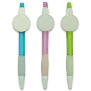 Bolígrafos de carátula Ø25mm