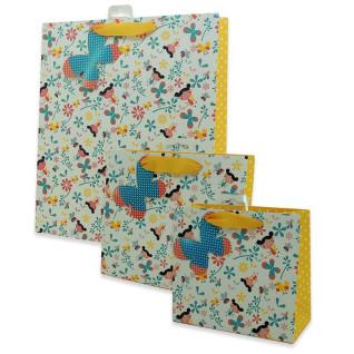 Bolsas de regalo diseño mariposas