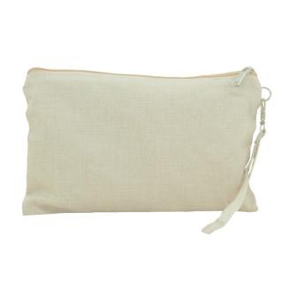 Bolso de mano para sublimación tejido símil lino