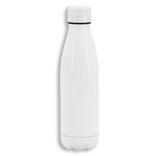 Botella termo 700ml de acero inoxidable blanca para sublimación