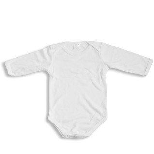 Body infantil para sublimación tacto algodón de manga larga