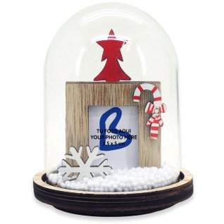Bola de nieve base madera serie Oppland