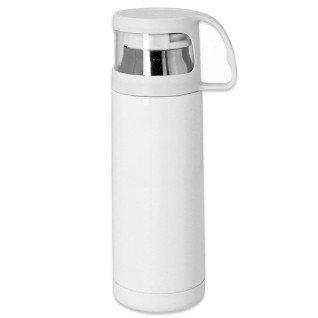 Botella termo para sublimación de 350ml con tapón taza
