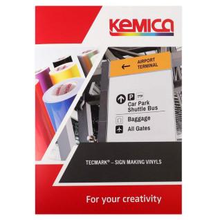 Carta de colores de vinilo para rotulación Kemica serie Tec Mark