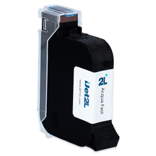 Cartucho tinta base agua AQUA FAST negro para impresora Breva