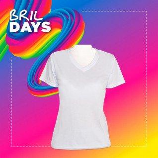 Camiseta de chica para sublimación tacto algodón - Brildays 2020