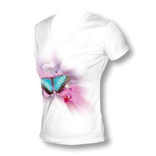 Camiseta de chica para sublimación tacto algodón