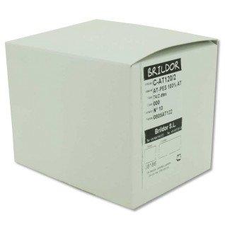 Canillas cocón Poliéster 100% AT120/2 - N10 Natural