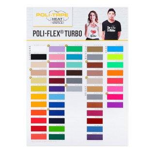 Carta de colores para vinilos Turbo