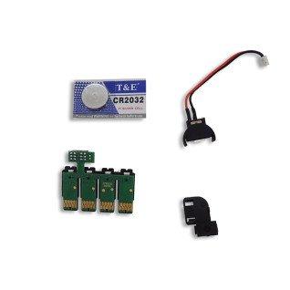 Chips para CISS Epson WF-7210dtw - Pack de 4 uds CMYK