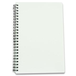 Cuaderno A5 con tapas de plástico de 160 páginas