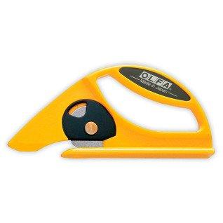 Cúter para linóleo y alfombras con cuchilla de disco Olfa 45-C