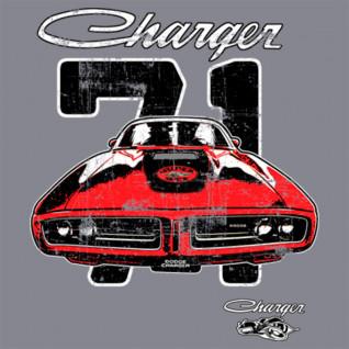 Diseño Transfer Charger 71 - Sobre tejido gris