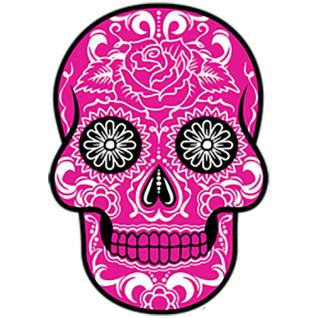 Diseño Transfer Pink Sugar Skull