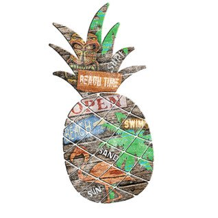 Diseño Transfer Beach Pineapple - Pack de 3 uds