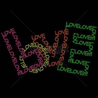 Diseño Pedrería Love Colores