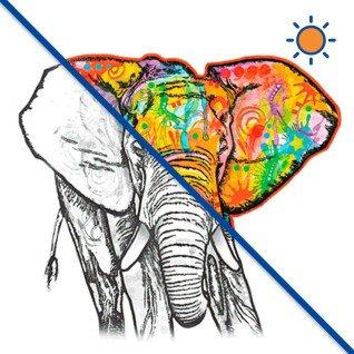 Diseño transfer Solar Elefante