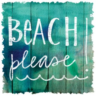 Diseño Transfer Beach Please!