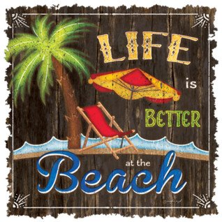 Diseño Transfer Life is Better at the Beach