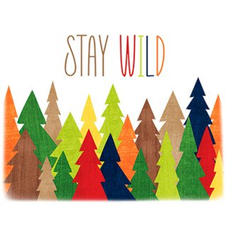 Diseño Transfer Stay Wild