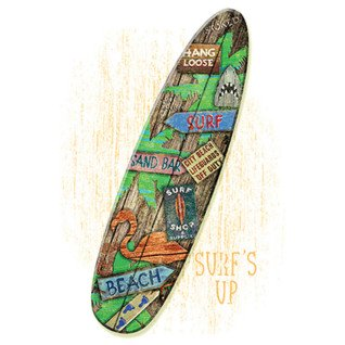 Diseño Transfer Surf Board