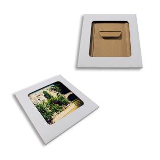 Estuche con ventana para azulejos de 15x15cm - Pack de 30 uds - Muestra