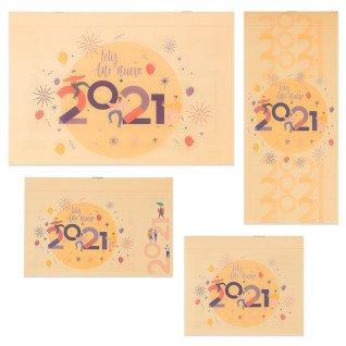 Faldilla calendario mensual 2021