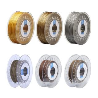 Filamentos PLA Metalizados