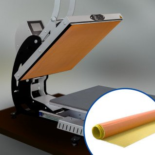 Lámina de teflón adhesiva de 1m x 1m x 0,08mm