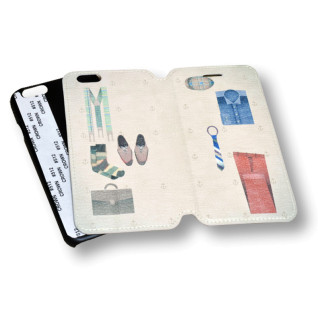 Funda de simil piel para iPhone 6 personalizada