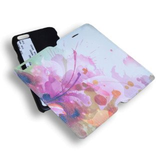 Funda de simil piel para iPhone 6 Plus personalizada