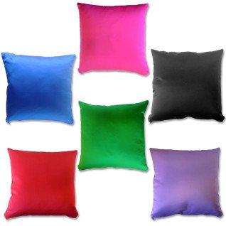 Funda para cojín con reverso de color - Conjunto