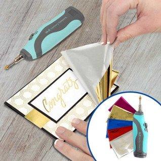 Heatwave Foil Pen We R - Ejemplo de uso