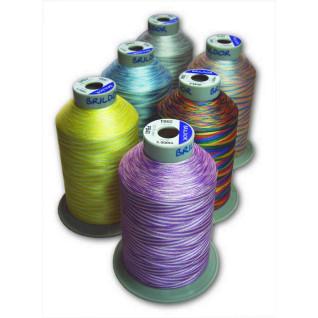 Hilos de bordar PB40 Multicolor Poliéster 100%